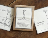 Seedling Bookplates - Digital - Printable PDF