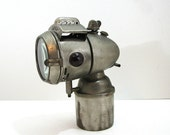 1900s Bicycle Head Lamp Antique Electric Bike