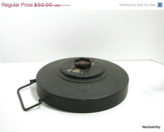 Fall Sale Vintage Anti Tank Land Mine Dummy Used By