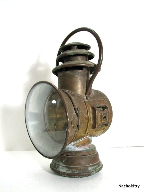 110 Year Old Dietz Regal Auto Motor Lamp Pre War By
