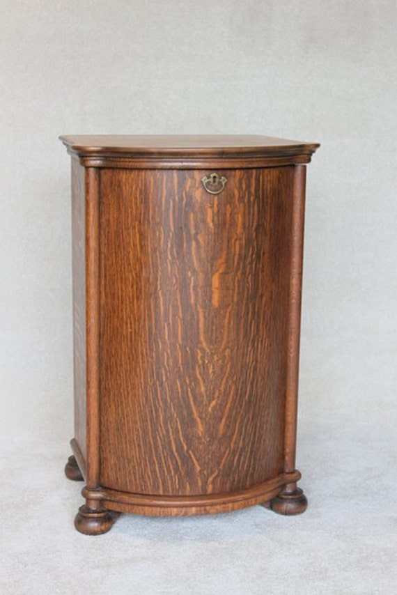 [ IMG] - A Great Turntable Stand With Record Storage. Audiokarma Home - Antique Victrola Cabinet Antique Furniture
