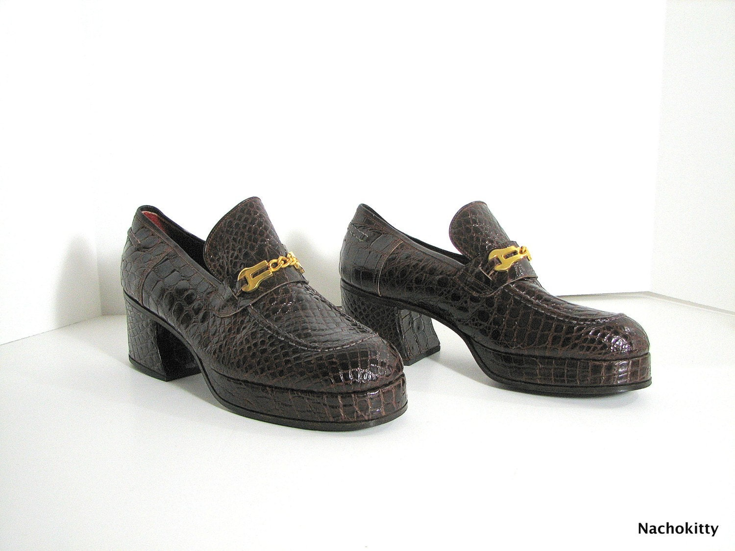 1970 s disco shoes high end european mens shoe by barnowlgoods