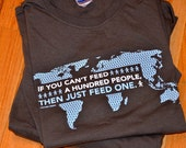 If You Can't Feed A Hundred Adoption T-shirt
