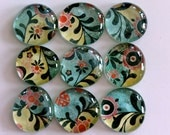 Glass Marble Magnets - Cannes Collection (FREE SHIP)