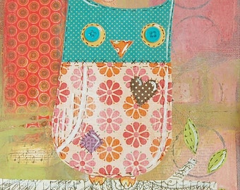 Ophelia Owl Print