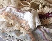 vintage lace trim - pack no 4