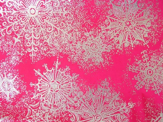 25 Off Vintage Wrapping Paper Pink And Silver Gift Wrap
