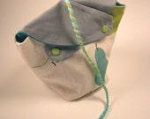 Japanese Linen--Pear Yarn Bag