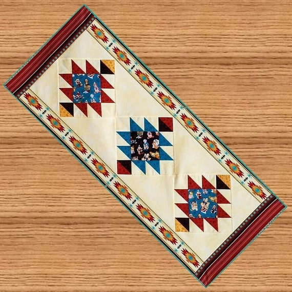 Southwest Table Runner Pattern B J Q 120 By Beejoyfulquilts