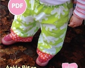 Sale - Ankle Biter Sewing Pattern PDF--Dress your baby in style