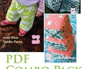 Baby Sewing Patterns COMBO PACK--or Any Three PDF Patterns