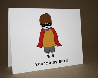 Thank You Card - Encouragement Card- Thinking Of You Card