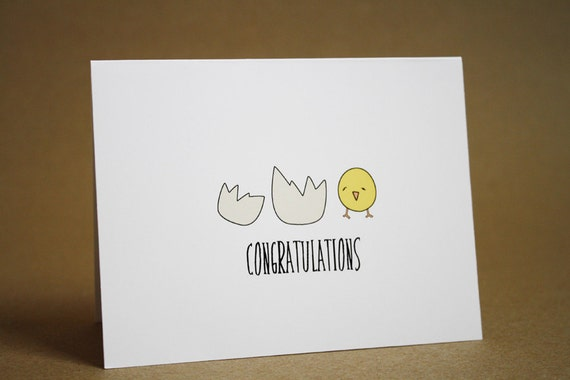 Baby Shower Card Congratulations New Baby New Parent