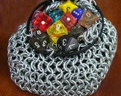 Deluxe Chainmail Dice Bag
