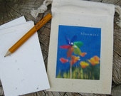 bloomies. 4 seeded wishes in a day dream believer canvas pouch