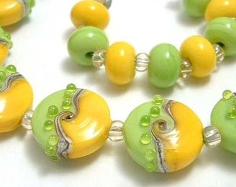 Lime Green and Sunny Yellow Sprees