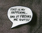 This Is My Happening Speech Bubble Magnet FREE US SHIPPING