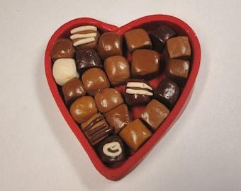 Valentine Chocolates Magnet