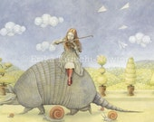 Armadillo Dream - Fine Art Print
