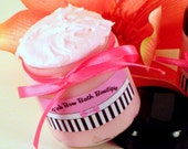 Island Beach Babe Sugary Body Polish enriched with Shea, Aloe, Sweet Almond Oil, and Apricot Kernel Oil