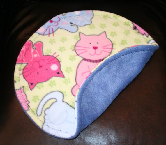 Nap Spot - Pink and Blue Cats