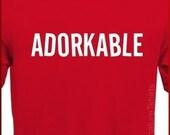 ADORKABLE - Funny Geek DORK T-Shirt S, M, L, XL