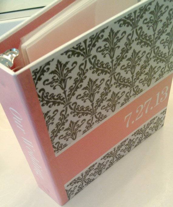 Wedding Planner Organizer Binder for Brides to Be