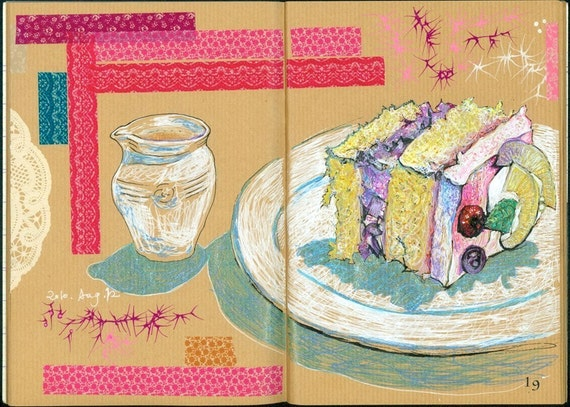 Food & Drink I / 飲食記一 (Art Zine - Artist's Book)