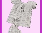 1939 Madelaine Knit Baby Dress Pattern