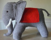 Crochet Elephant Pattern from 1940s