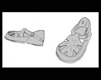 1940s Baby Sandals