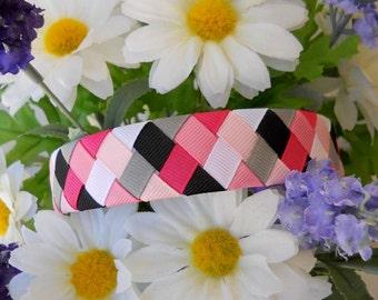 6 Color Woven Ribbon Headband Tutorial PDF