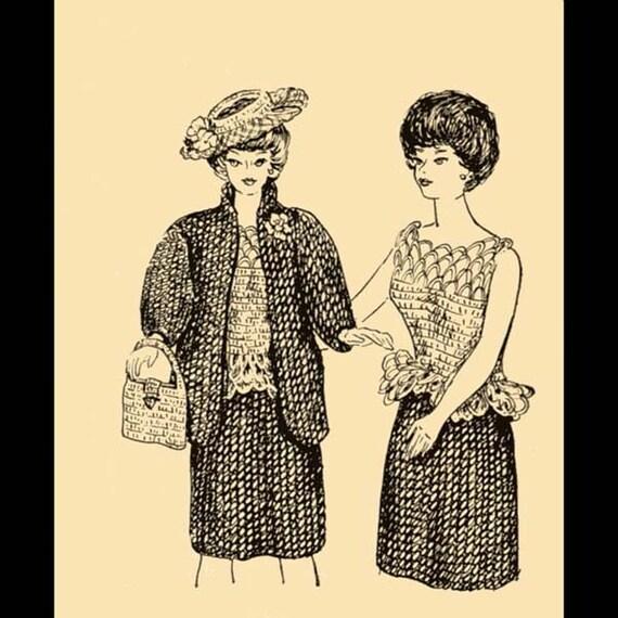 1964 Fashion Doll Wardrobe Pattern