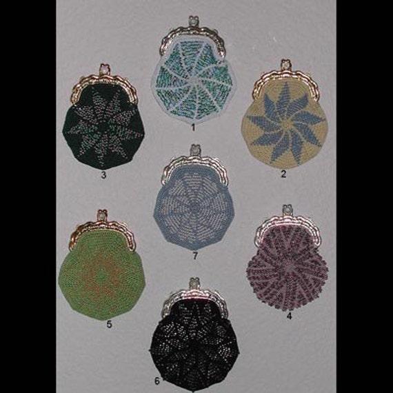 7 Bead Crochet Coin Purse Patterns