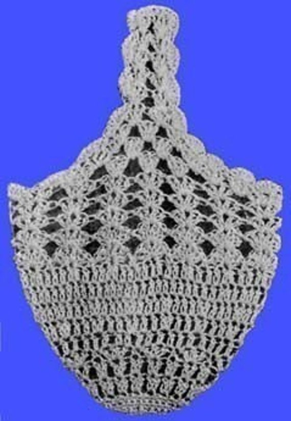 1915 Crochet Wrist Bag or Thread Holder Pattern