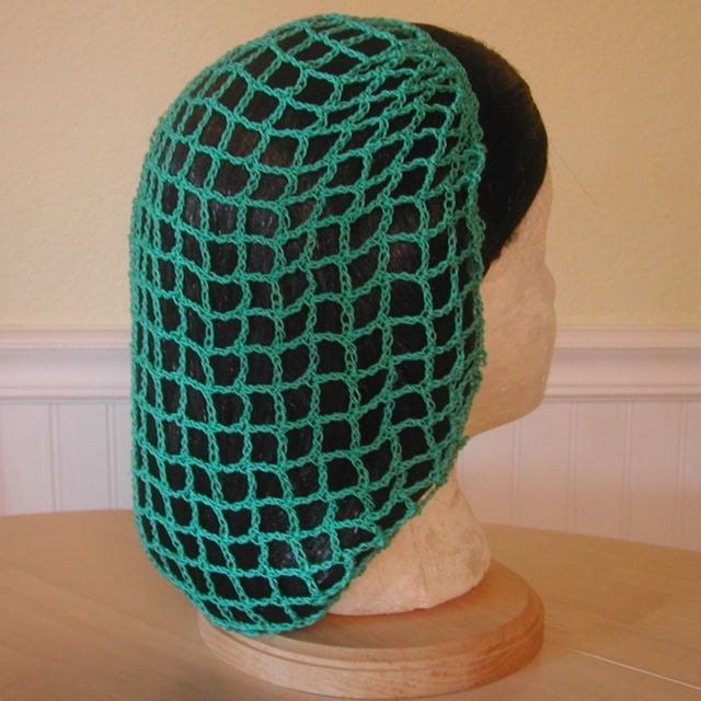Crochet Hair On Net : Crochet Snood or Hairnet Pattern from 1942 by patternsalacarte