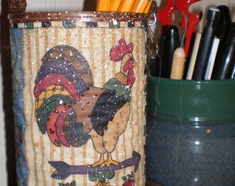 Decorative Tin - Rooster - Weathervane - Rise and Shine