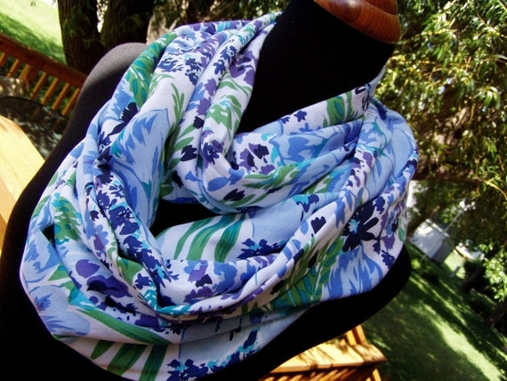 Infinity Scarf - Loop Scarf - Soft Brushed Cotton - Eternity Scarf - Circle Scarf