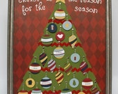 CHRISTmas Tree - ePattern for a Christmas Advent Calendar