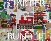 Starter Bundle - Your Choice of ePatterns for Our Print and Play Felt Sets