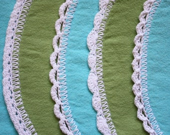 Nursery Favorites - ePattern for Crochet Edges for Baby Blankets and Burp Cloths