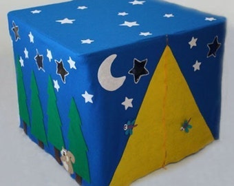 Camp Wannacraft - ePattern for a Tent Card Table Fort