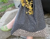 Leopard Recycled Pillowcase Bag \/ Market Tote