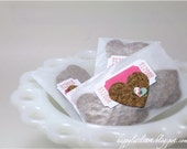 Adorable Cork Sticker Hearts perfect for Art Journals, Gift Decorations, Scrapbooks, Cards