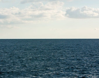 Oversized Large Ocean Photograph, Blue Green Ocean, 40x60 Fine Art Photography Print by Tricia McKellar, No. 8842.3