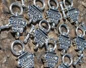 Tibet Silver Column Toggles