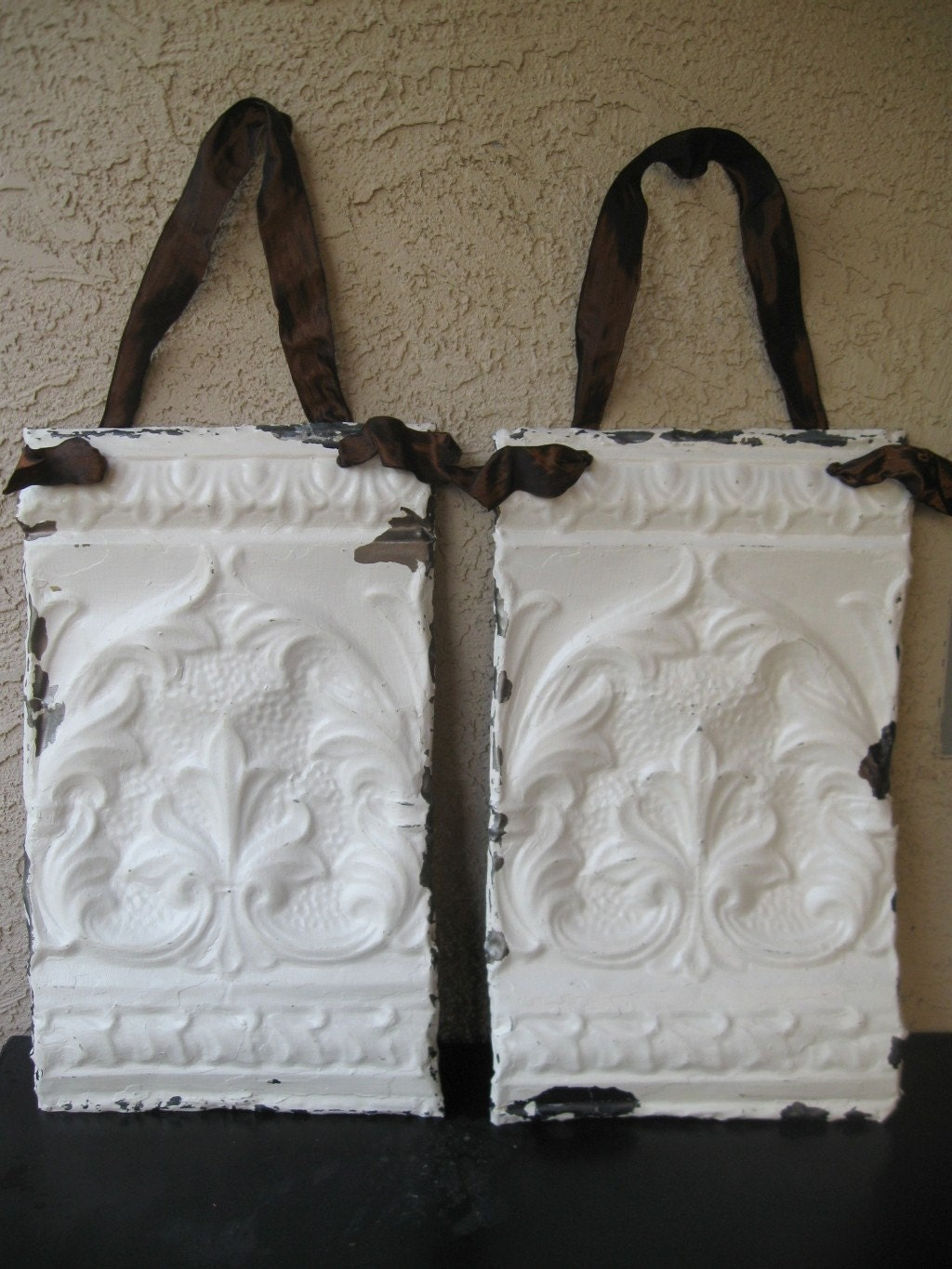 Fleur De Lis Architectural Salvage Wall Hanging By