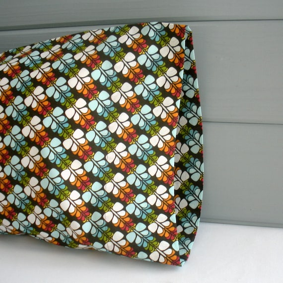 Organic Travel/Toddler Pillowcase - READY TO SHIP - Eco Friendly - Butterflies - Organic Cotton - Free Gift Wrapping