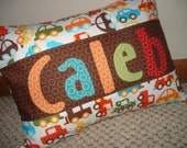 Traffic Jam Personalized Pillow