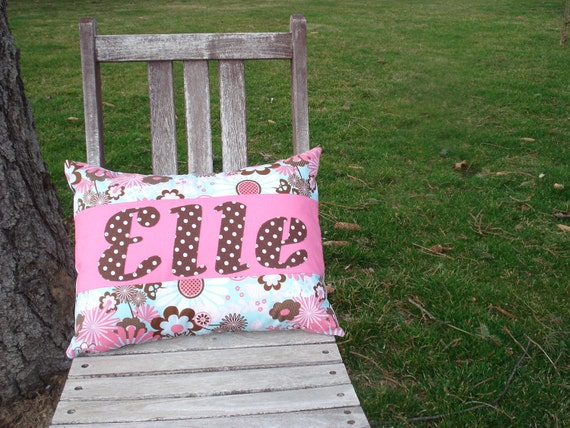Dainty Personalized Pillow